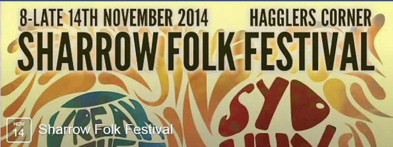 Sharrow Folk Music Fundraiser