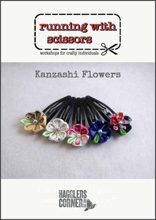Introduction to Kanzashi Flowers