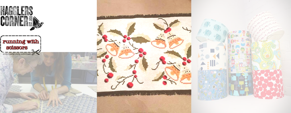 Portugese Tapestry Festive Cushion Mini Course