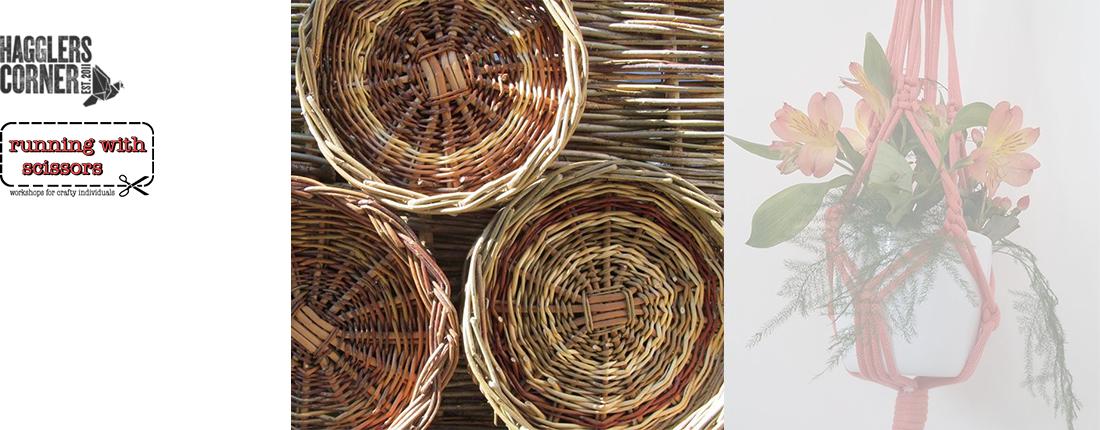 Willow Weaving – Rustic Basket