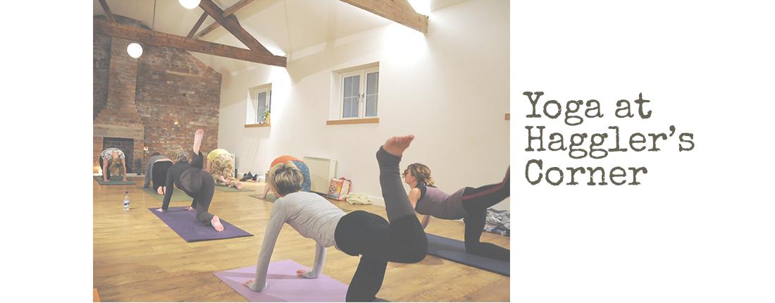Yoga and Pilates Classes at Hagglers Corner