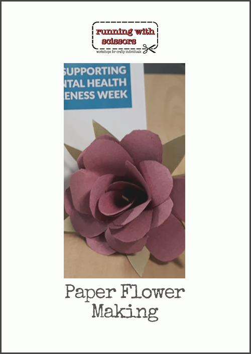Paper Flower Making – Empower Half Hour