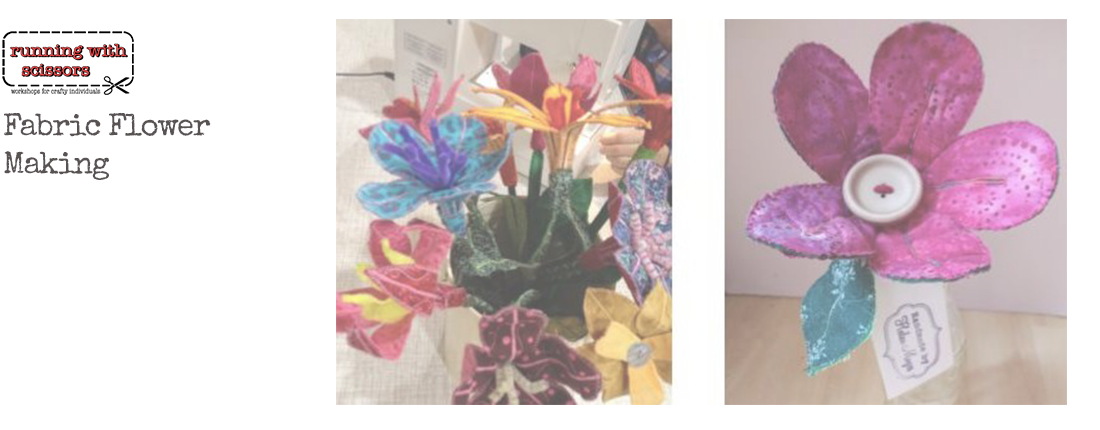 Fabric Flower Making