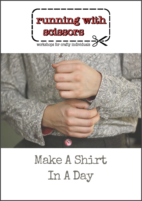 Shirt in a Day – Sewing Skills